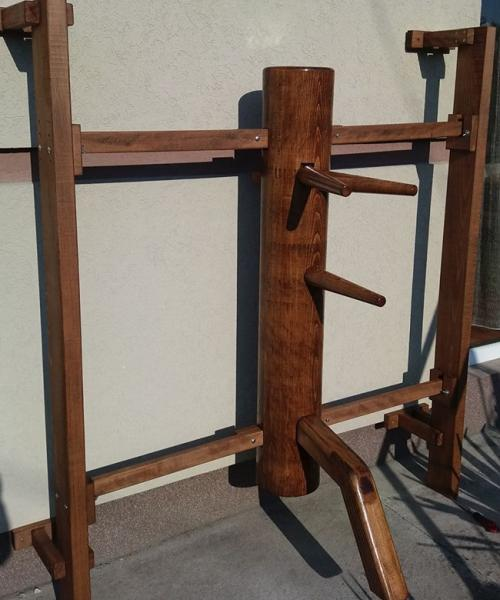 Wall frame mounted dummy